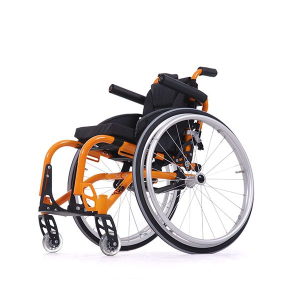 Detský mechanický invalidný vozík Sagitta Kid 1