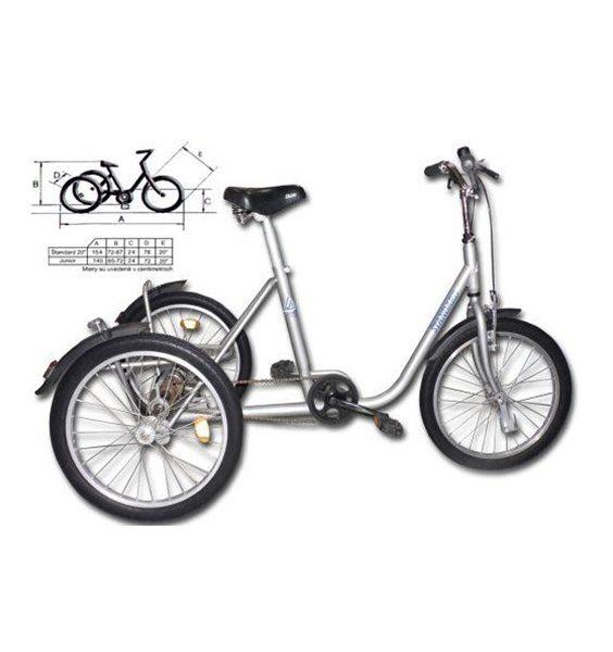 Trojkolesový bicykel Štandard 1