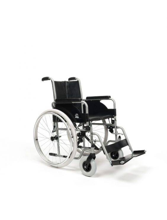 1-manual-wheelchair-steel-708D-immobility-healthcare