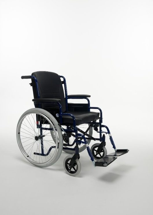 2-manual-wheelchair-steel-28-immobility-healthcare